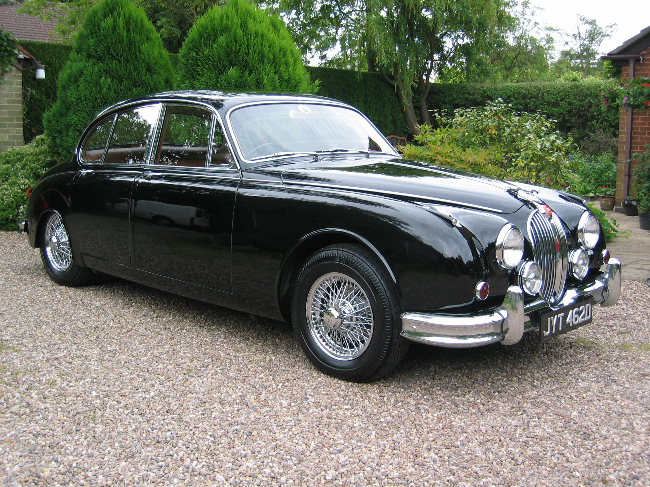 This Jaguar Model The MK2 Can Wallpaper For Free
