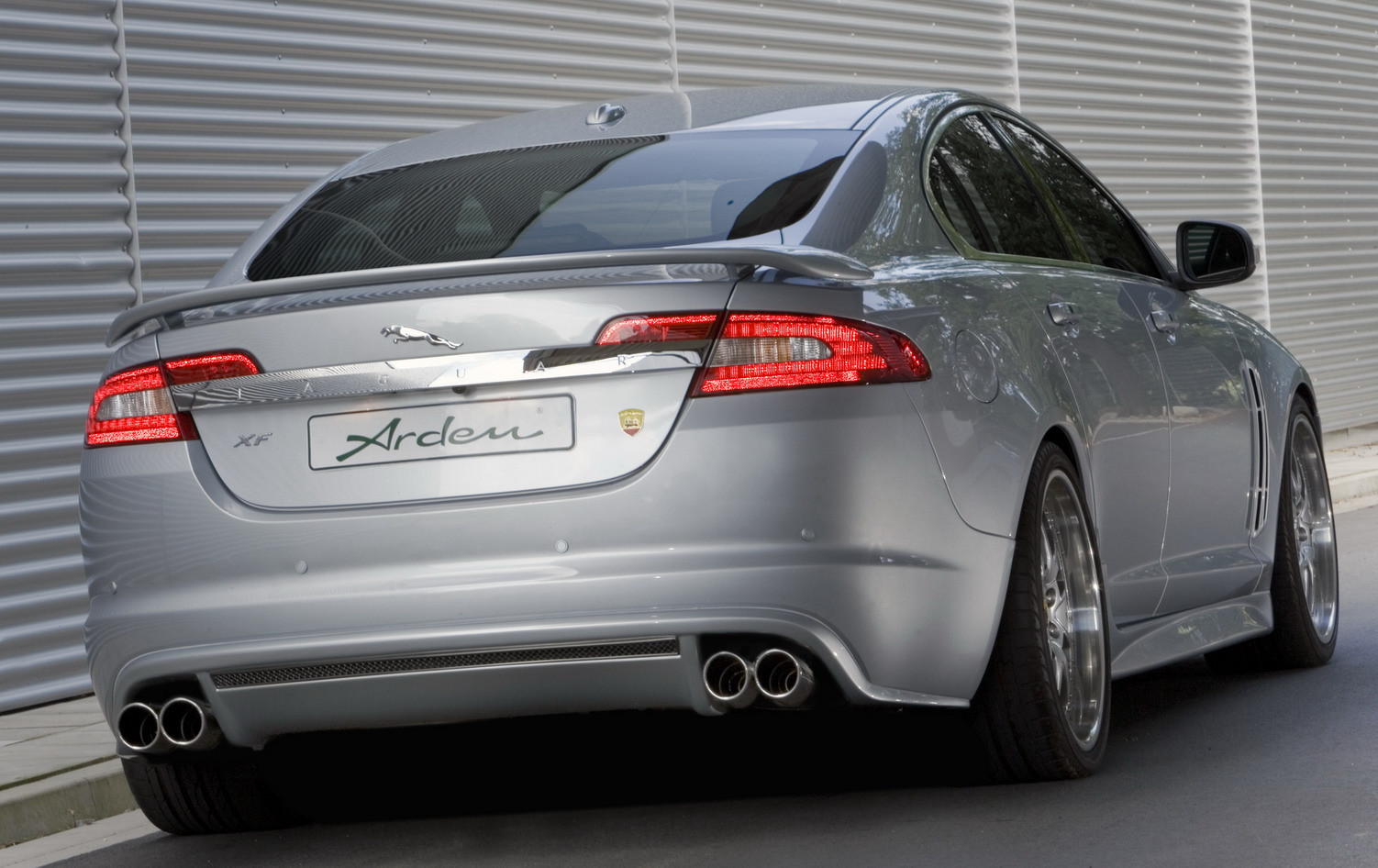 Jaguar XF by Arden Wallpaper For Phone