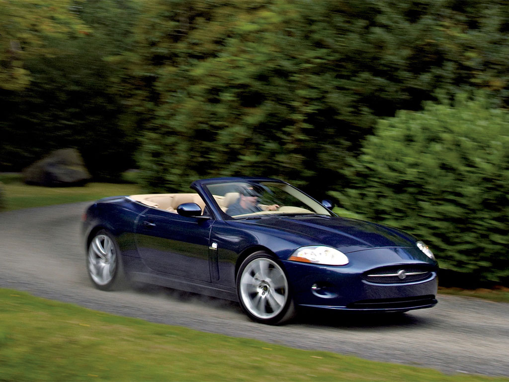 Jaguar XK Convertible 07 Wallpapers For Iphone