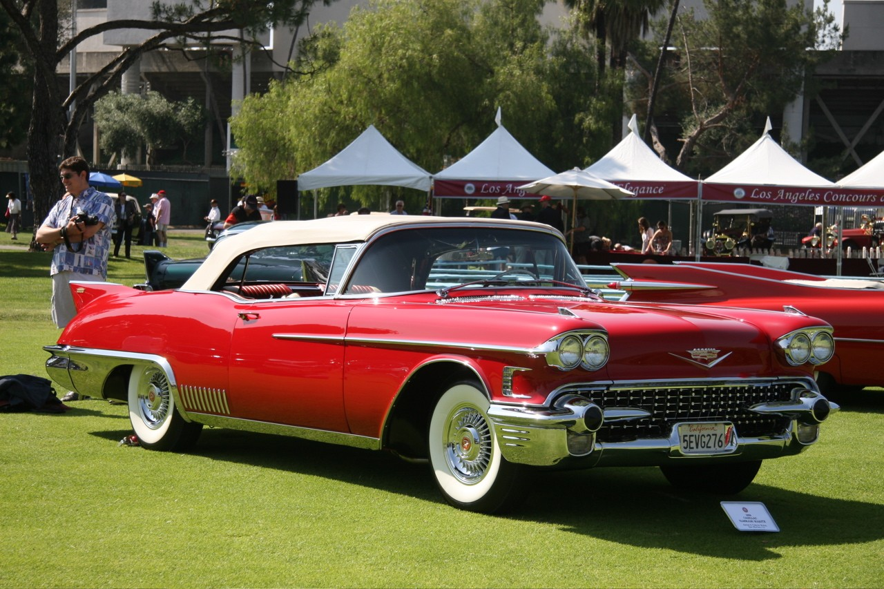 La Car Concours 1958 Cadillac Eldorado Biarittz Img Wallpaper For Ios