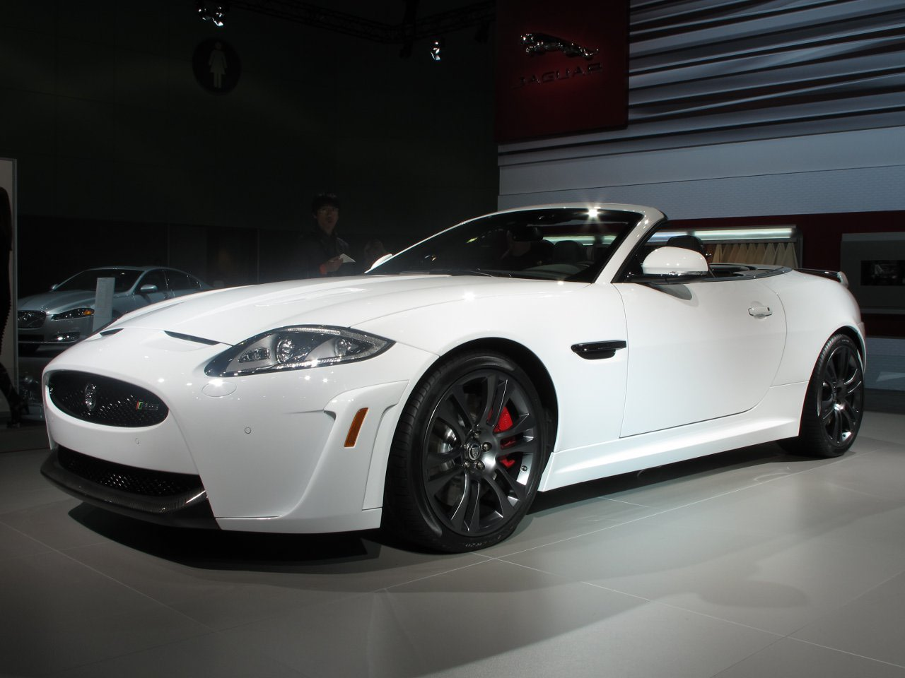 2012 Jaguar XKR-S Convertible Los Angeles Auto Show Wallpapers Desktop Download