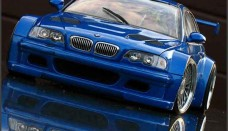 Model Bmw M3 GTR Bleue Most Wanted Wallpaper For Ios