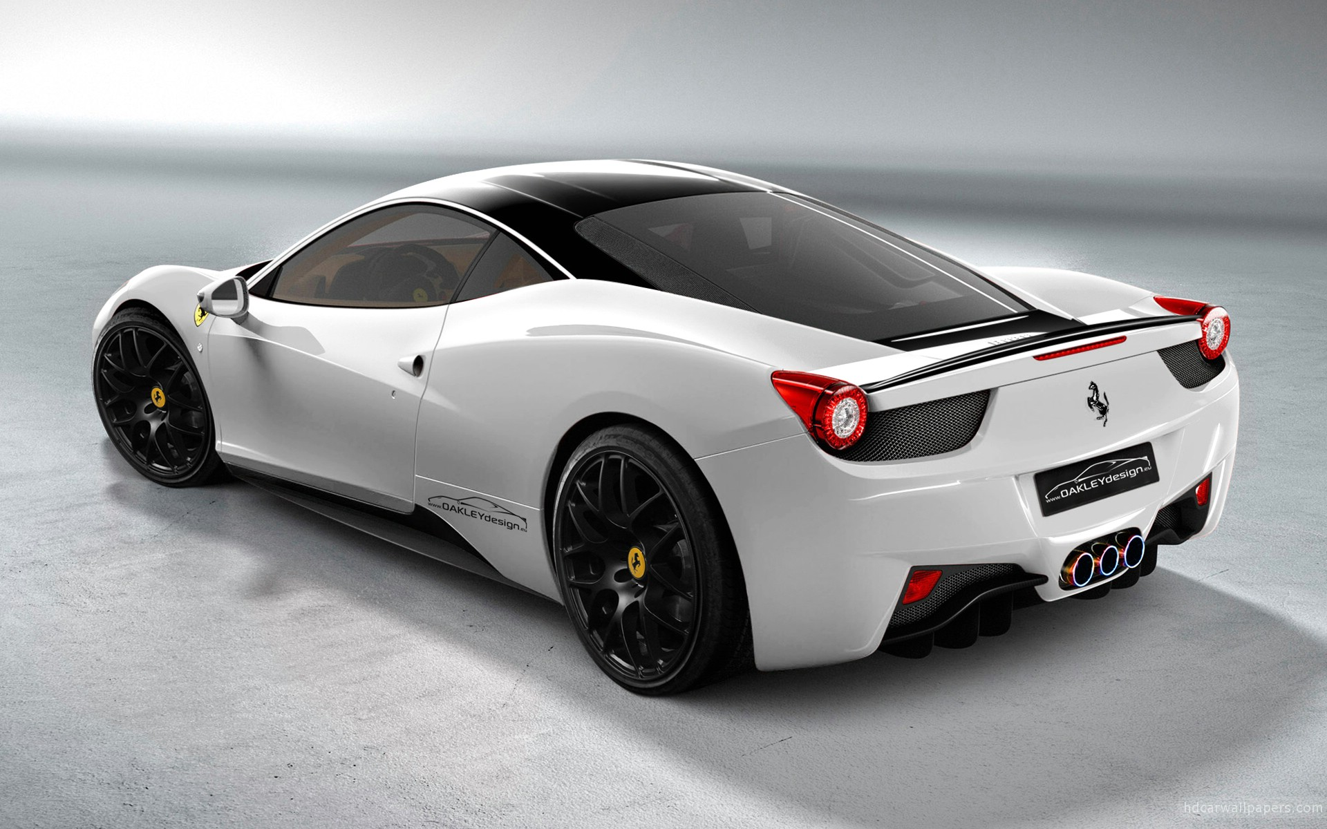 Oakley Design Ferrari 458 Italia 2 Wide  Car Wallpaper HD