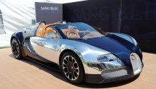 Sang Bleu Bugatti Unveiled Special Edition Model Wallpaper Background