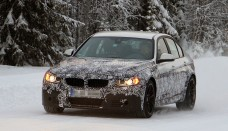 Spyshots 2014 Bmw M3 F80 Winter Test Gets Ceramic Brakes Wallpapers HD