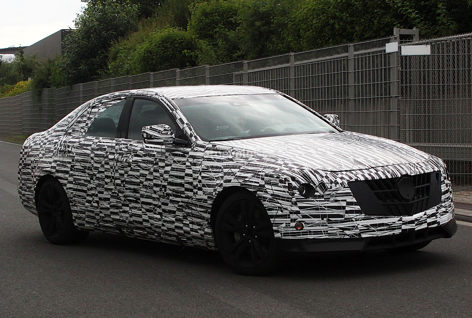 Spyshots 2014 Cadillac CTS Away Wallpapers HD