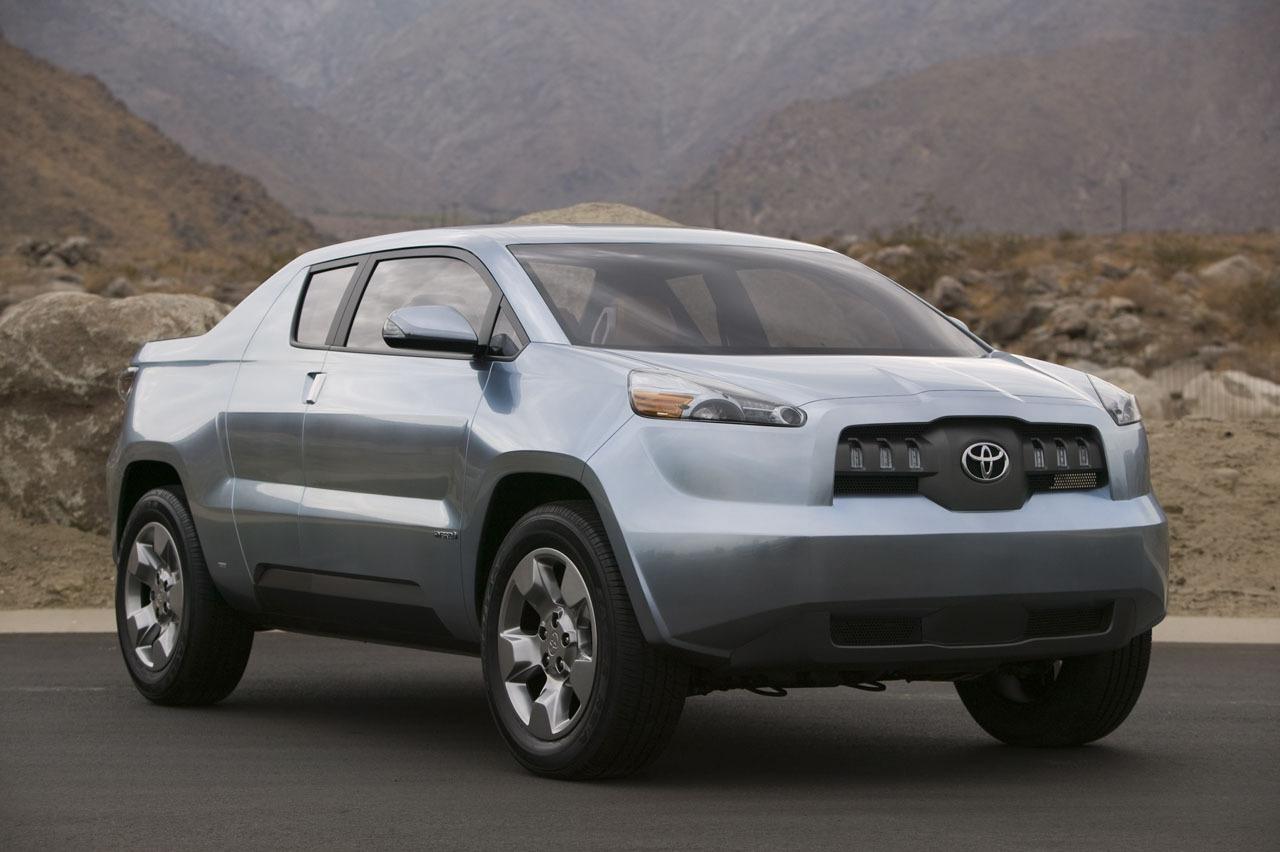 Toyota A BAT Hybrid Pickup Concept Wallpapers HD