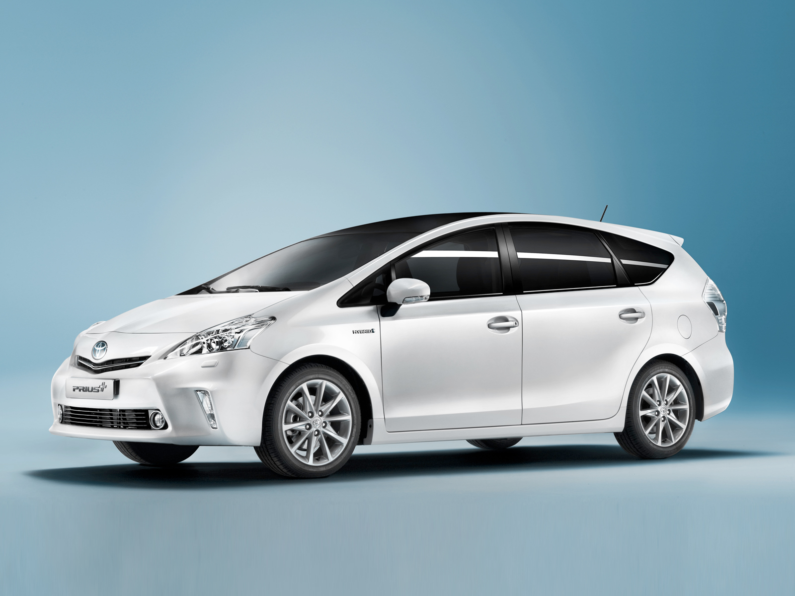 Toyota Prius Plus Unveiled  in Geneva The Full Hybrid 7 Seater Free Download Image Of