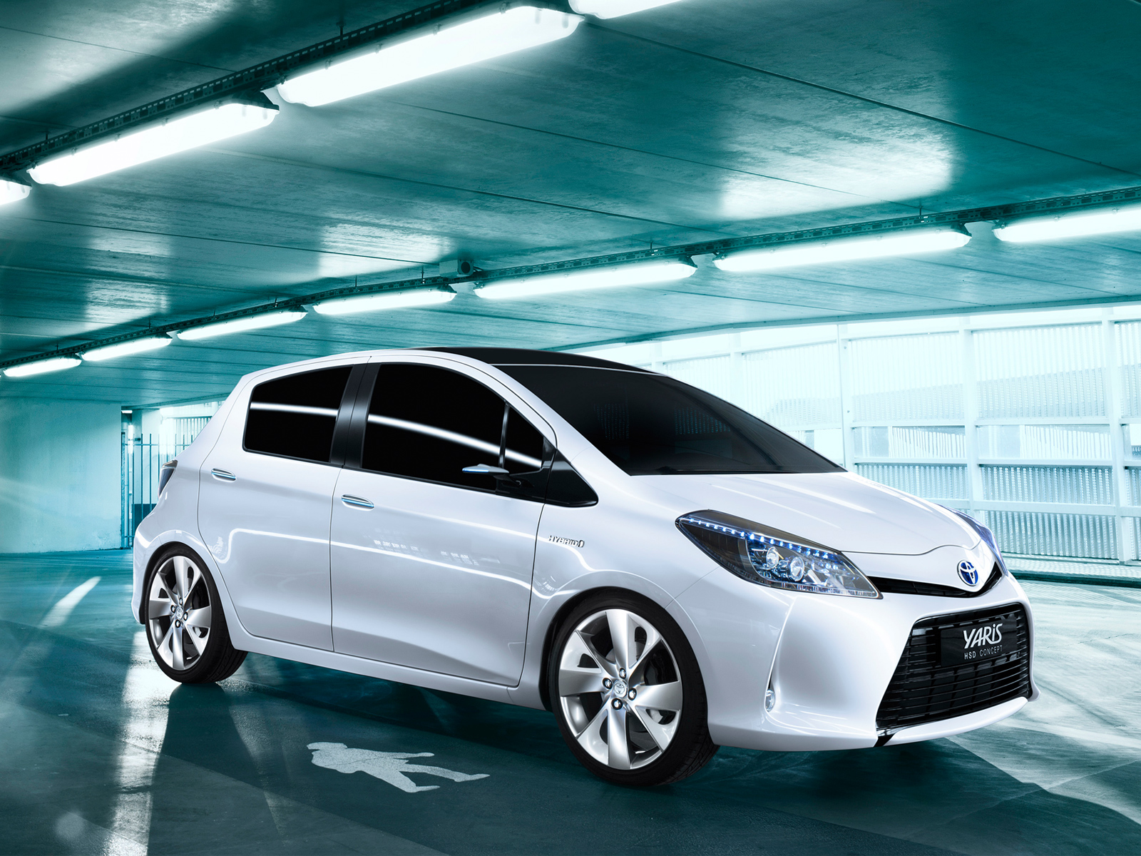 Toyota Yaris Hsd Concept 2011 Exterior Wallpapers Download