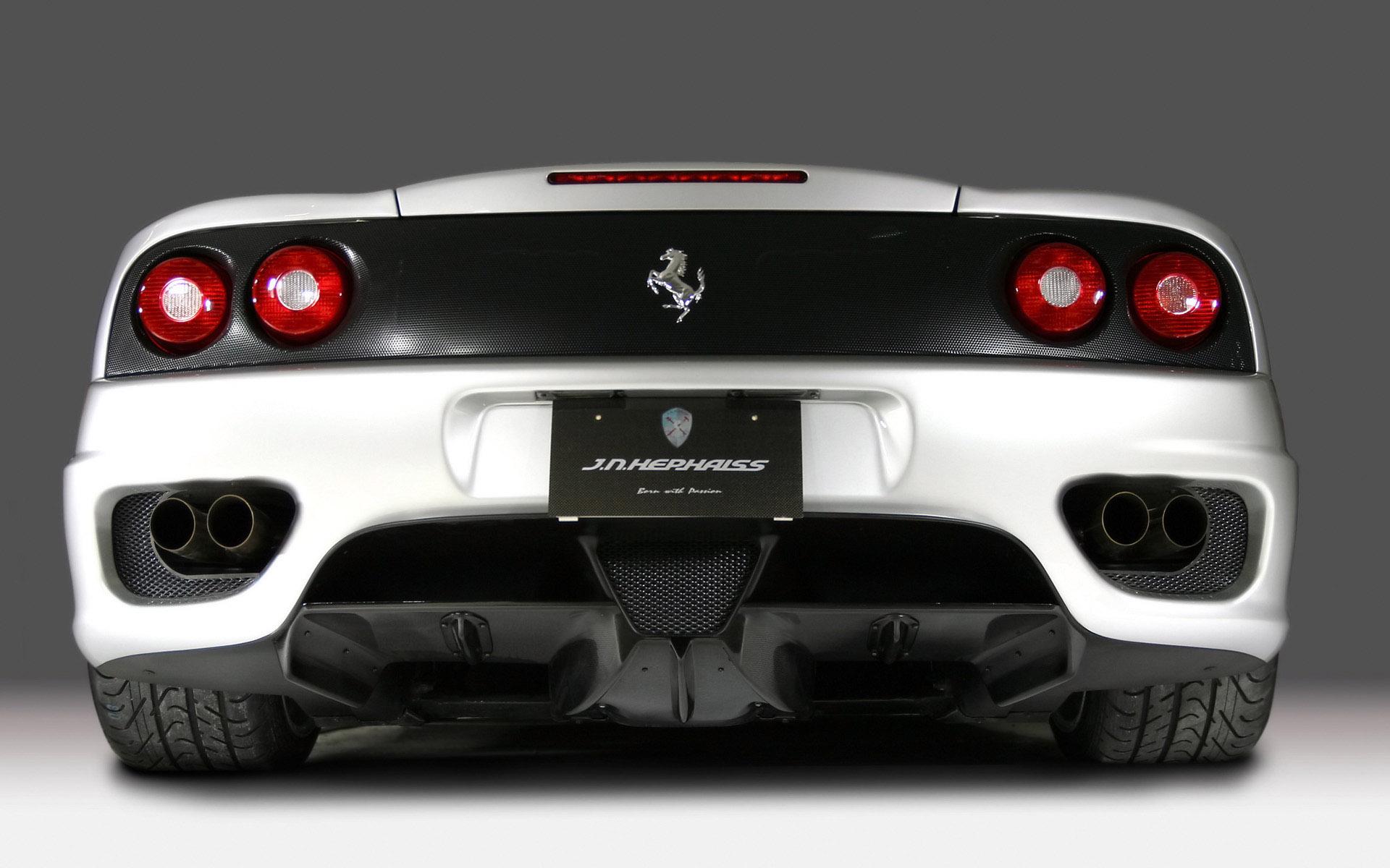 White Ferrari World Cars Wallpaper For Desktop Wallpaper
