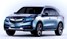 2014 Acura MDX Front Preview Free Download Image Of