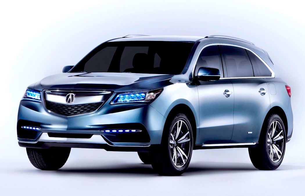 2014 Acura MDX Front Preview Free Download Image Of Wallpaper