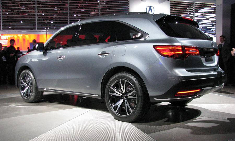 2014 Acura MDX Hybrid Free Download Image Of Wallpaper