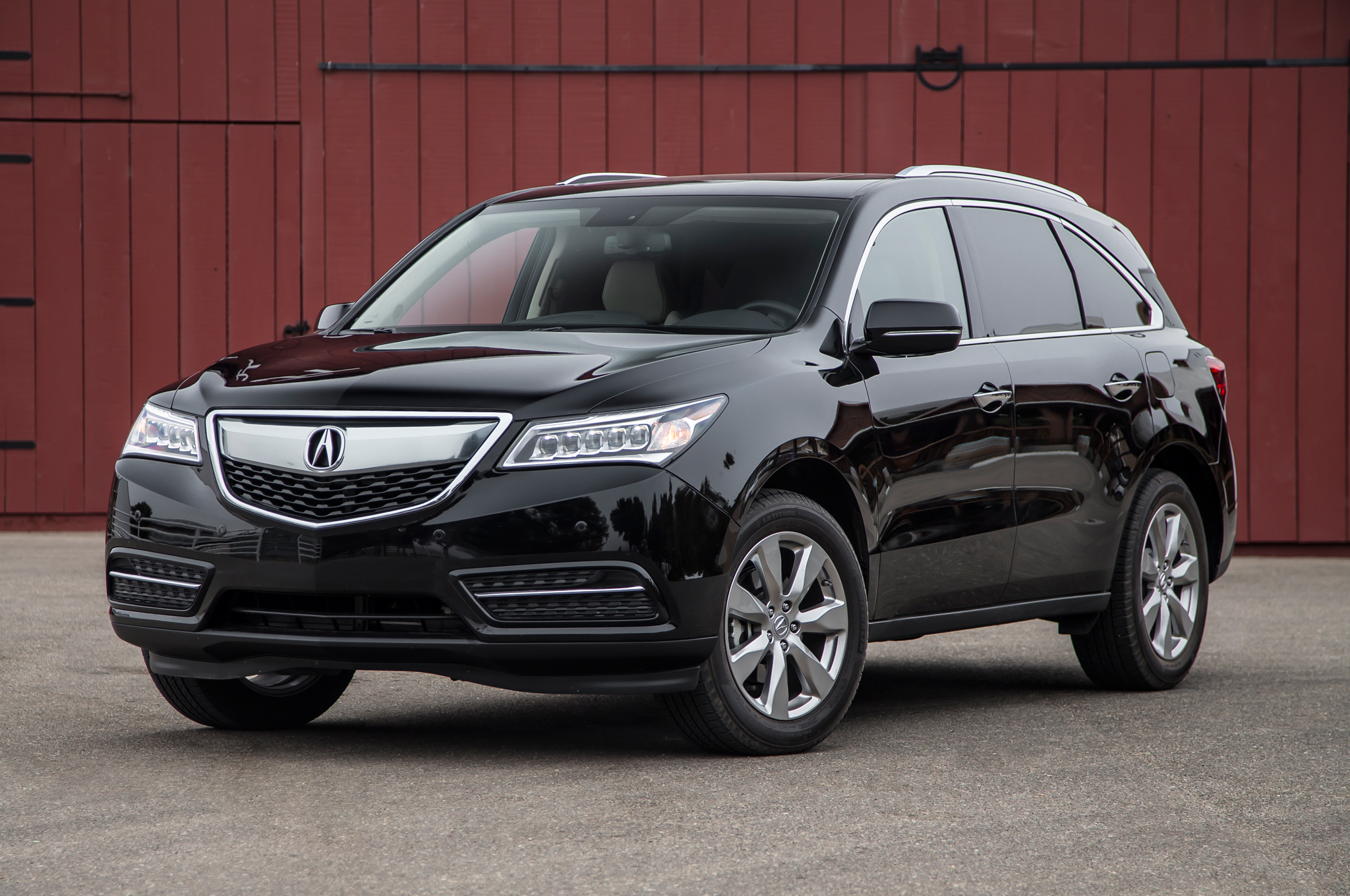 2014 Acura MDX SH AWD Front Three Quarters  Free Download Image Of