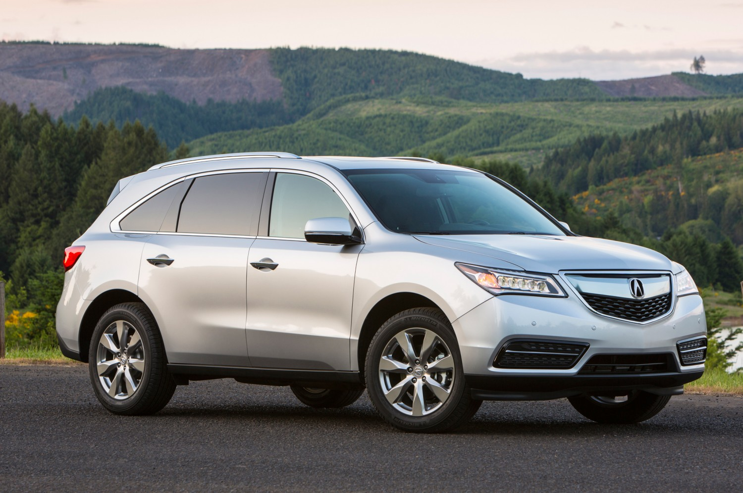 2014 Acura MDX Front Right Side Photo Motor Trend WOT Desktop Backgrounds Wallpaper
