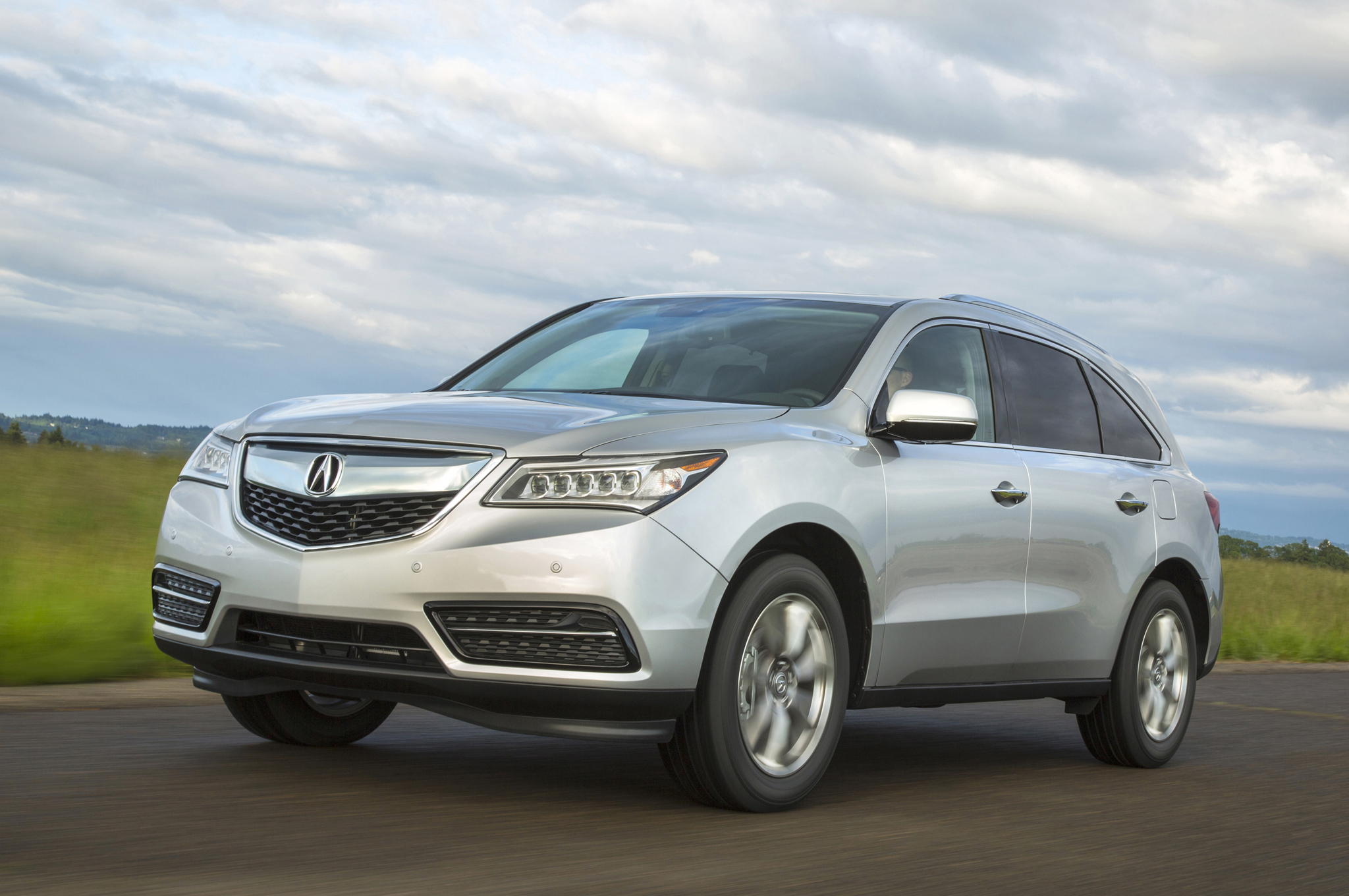 Acura MDX Front Three Quarter In Motion 02 Free Download Image Of