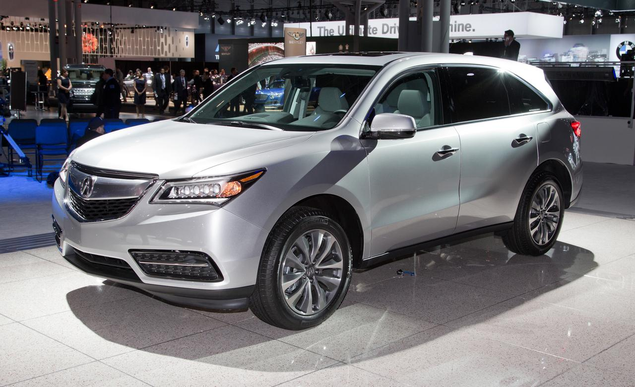 2014 Acura MDX High Resolution Wallpaper Free