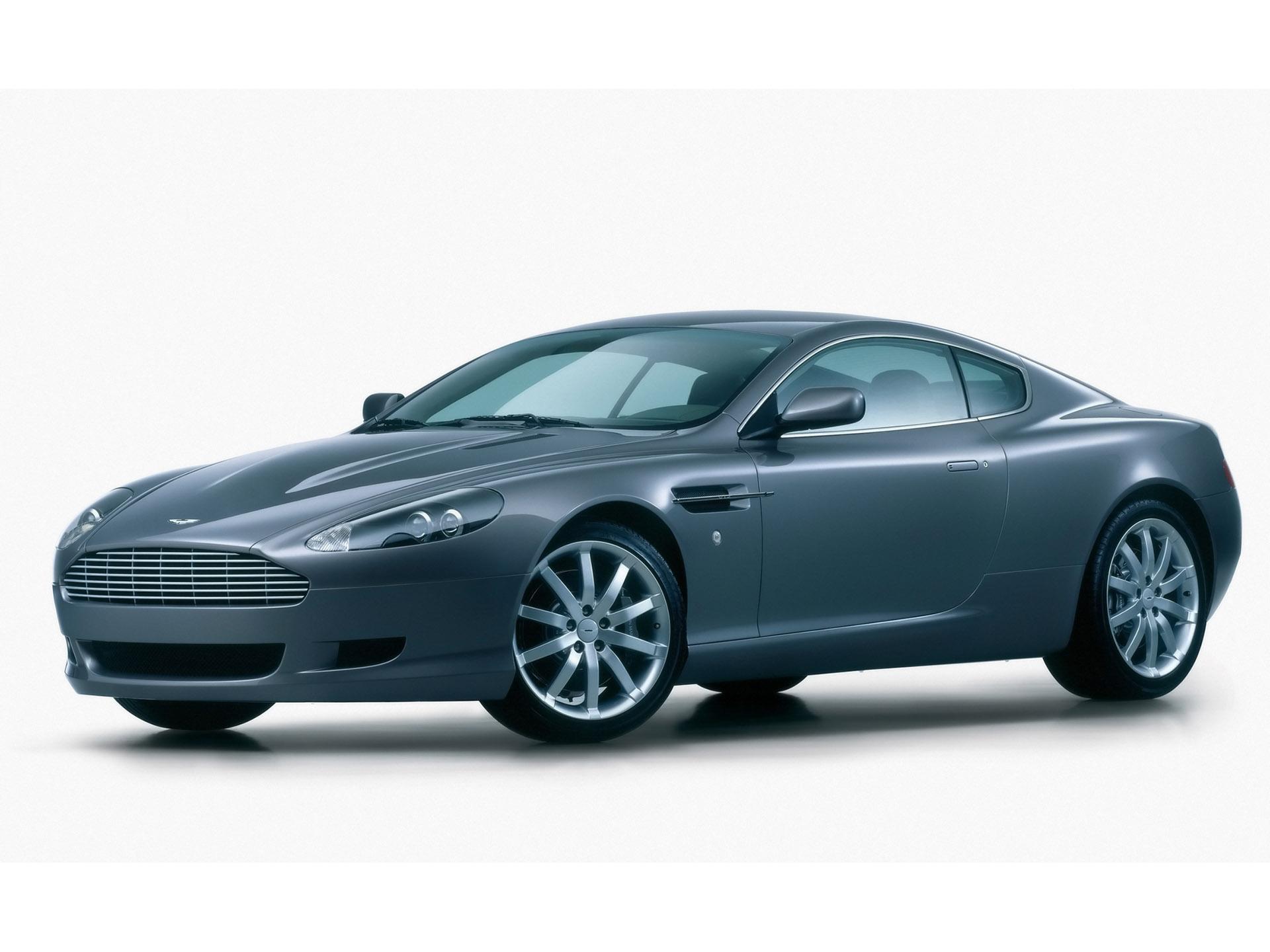 Aston Martin DB9 Side Angle Studio Wallpaper For Desktop