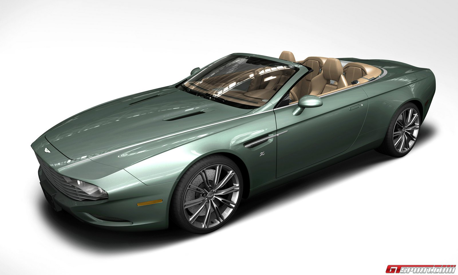 Aston Martin DB9 Spyder Zagato Centennial Official High Resolution Wallpaper Free