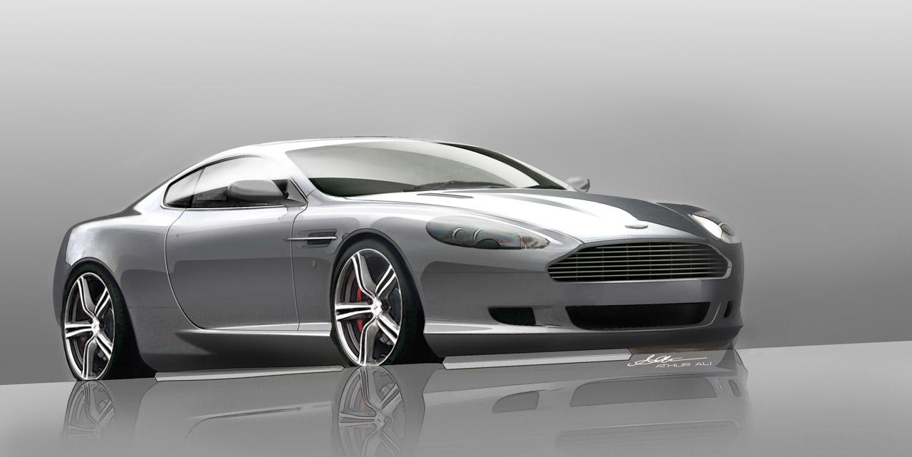 Evolution of the Aston Martin DB9 High Resolution Wallpaper Free