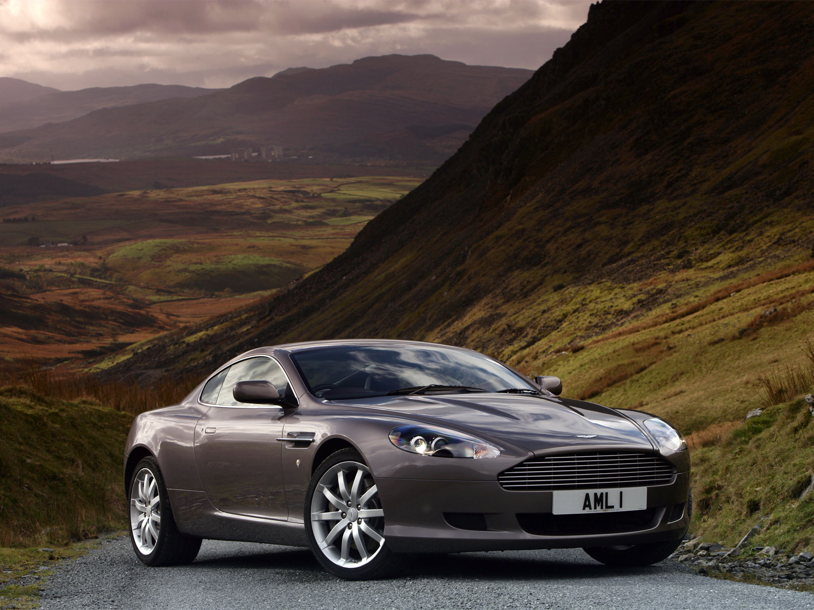 Aston Martin DB9 Silver Car Specifications Brand Model Wallpaper For Computer