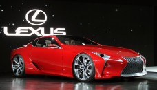 Lexus LF-LC Breaks Cover at Detroit Wallpaper Free Download Image Of