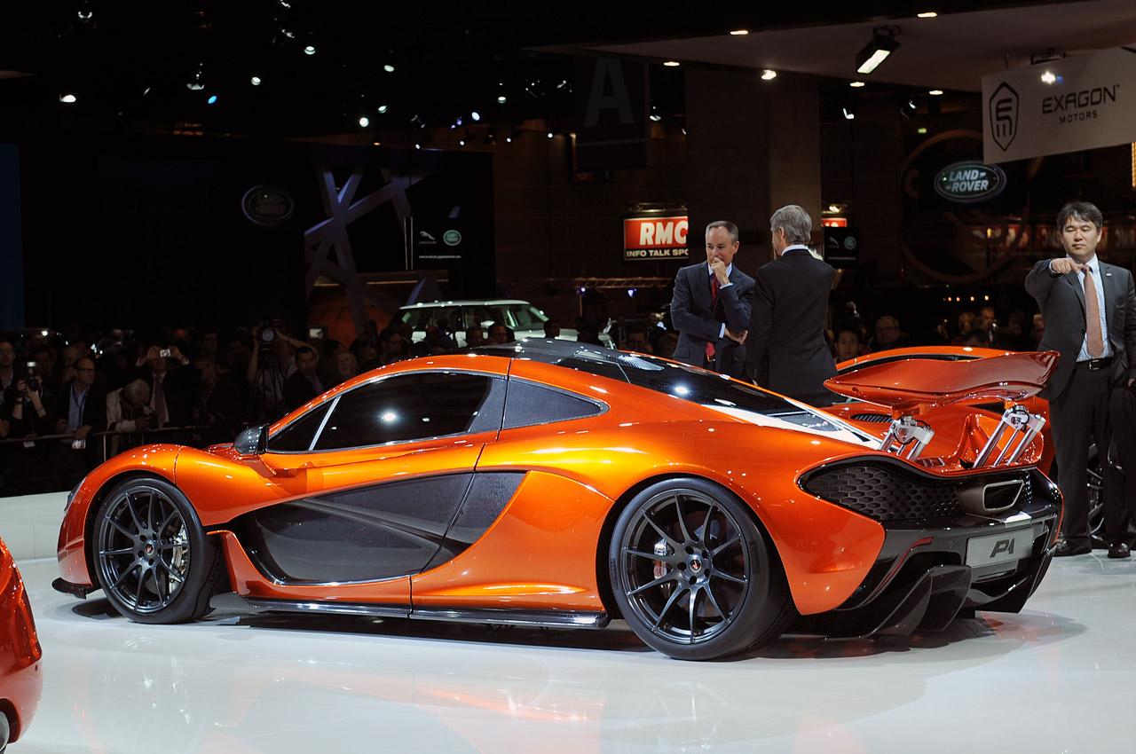 McLaren p1 paris Automotive announces performance figures Photo Gallery Desktop Backgrounds Wallpaper