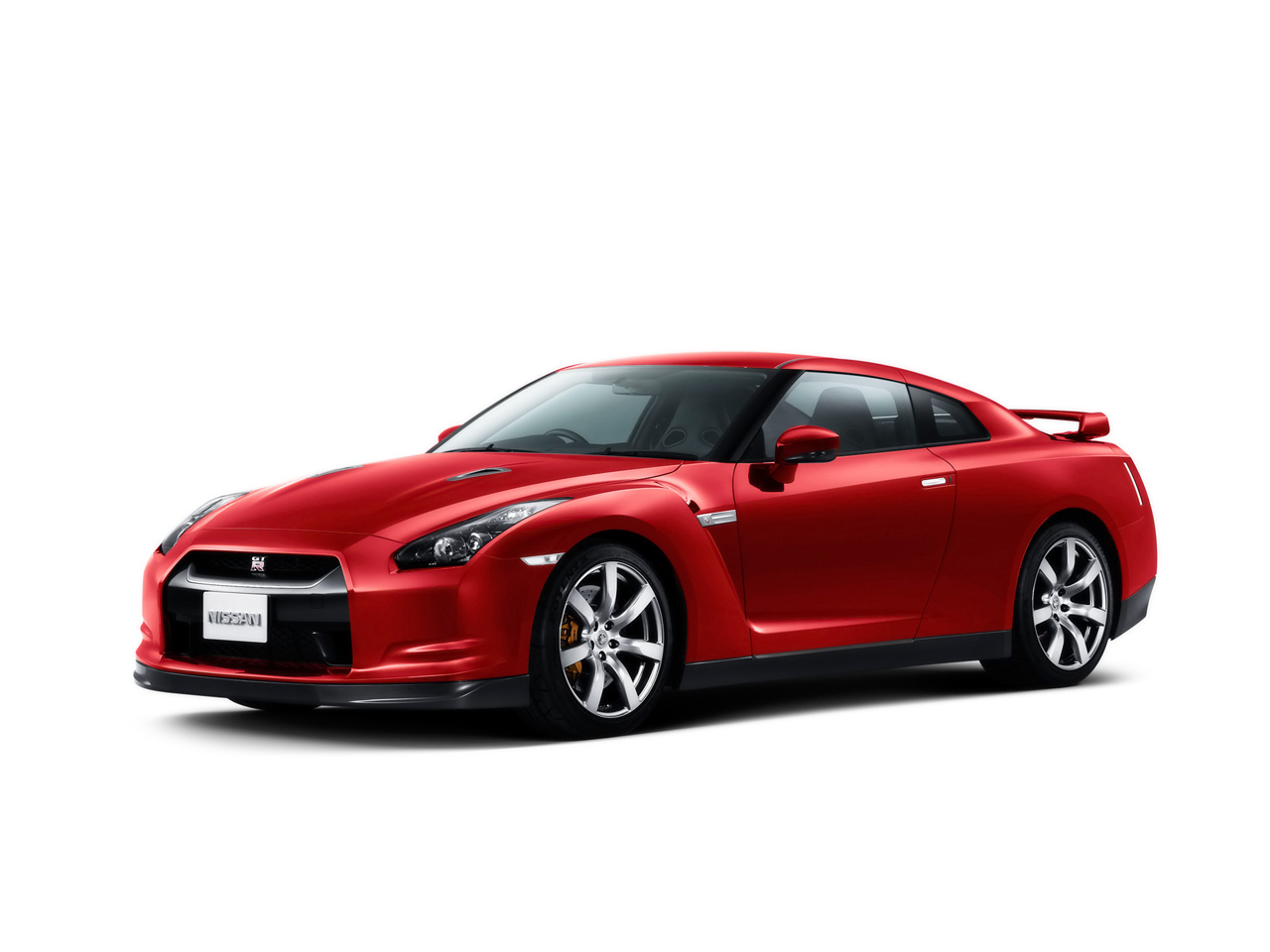 Nissan GT-R Background For Free