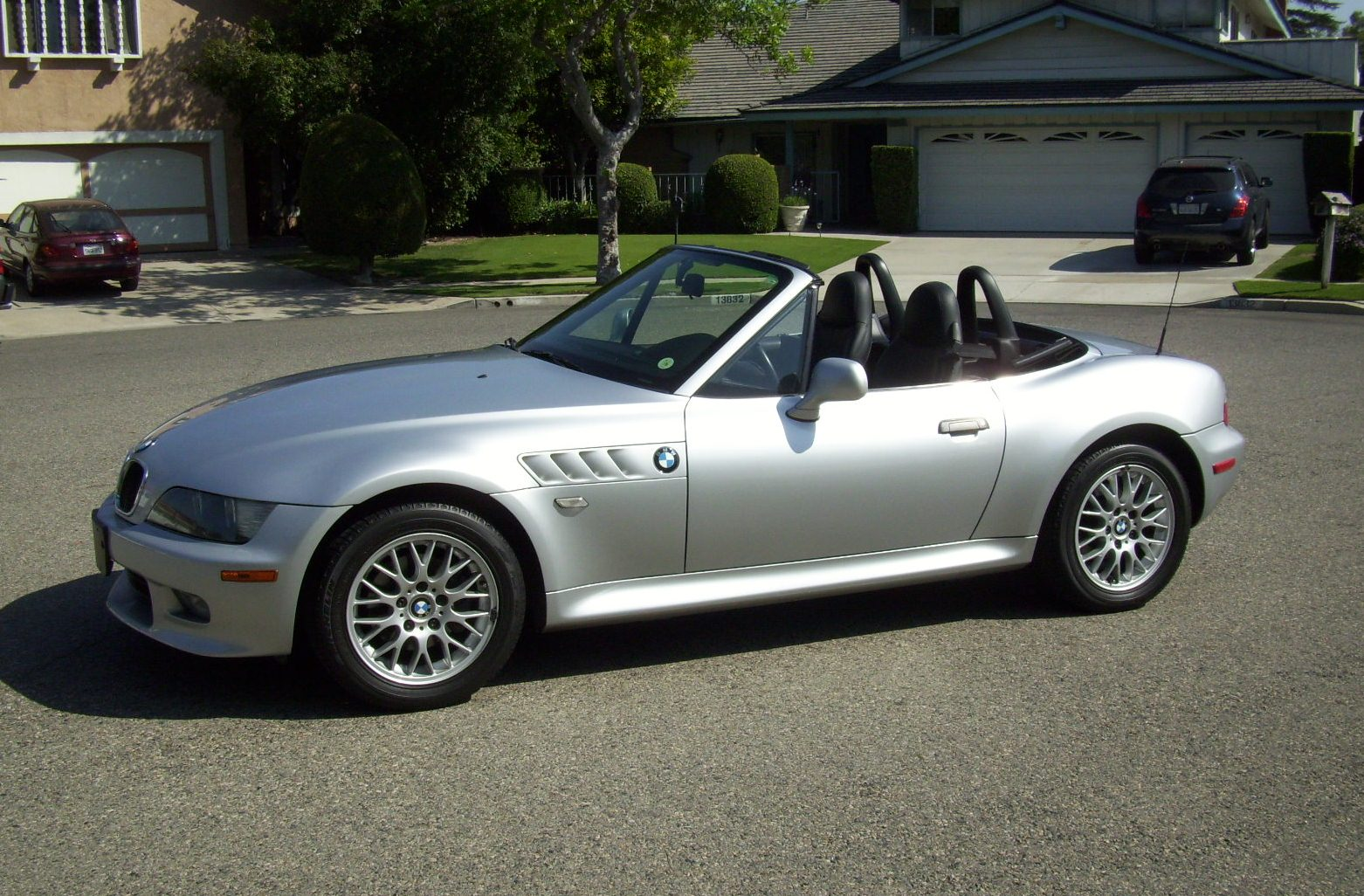BMW Z3 Convertible Silver 8 Cylinder Auto Trader Classics HD Wallpaper Free Download Image Of