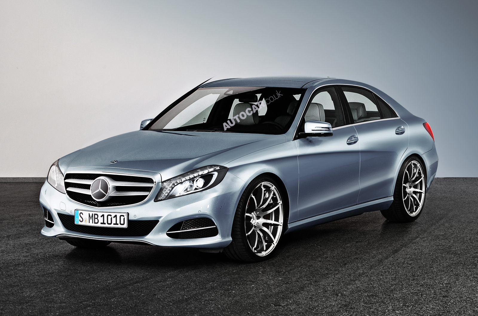The fourth generation Mercedes-Benz C-class wallpapers High Resolution Picture