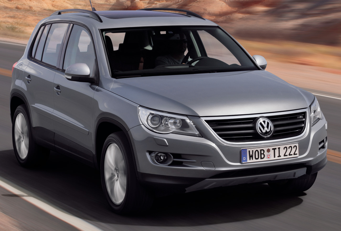 Volkswagen has revealed its Tiguan SUV The compact Wallpapers Download