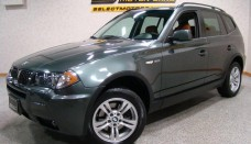 2006 BMW X3 3.0i Highland Green Metallic Color Terracotta Interior Free Download Image Of