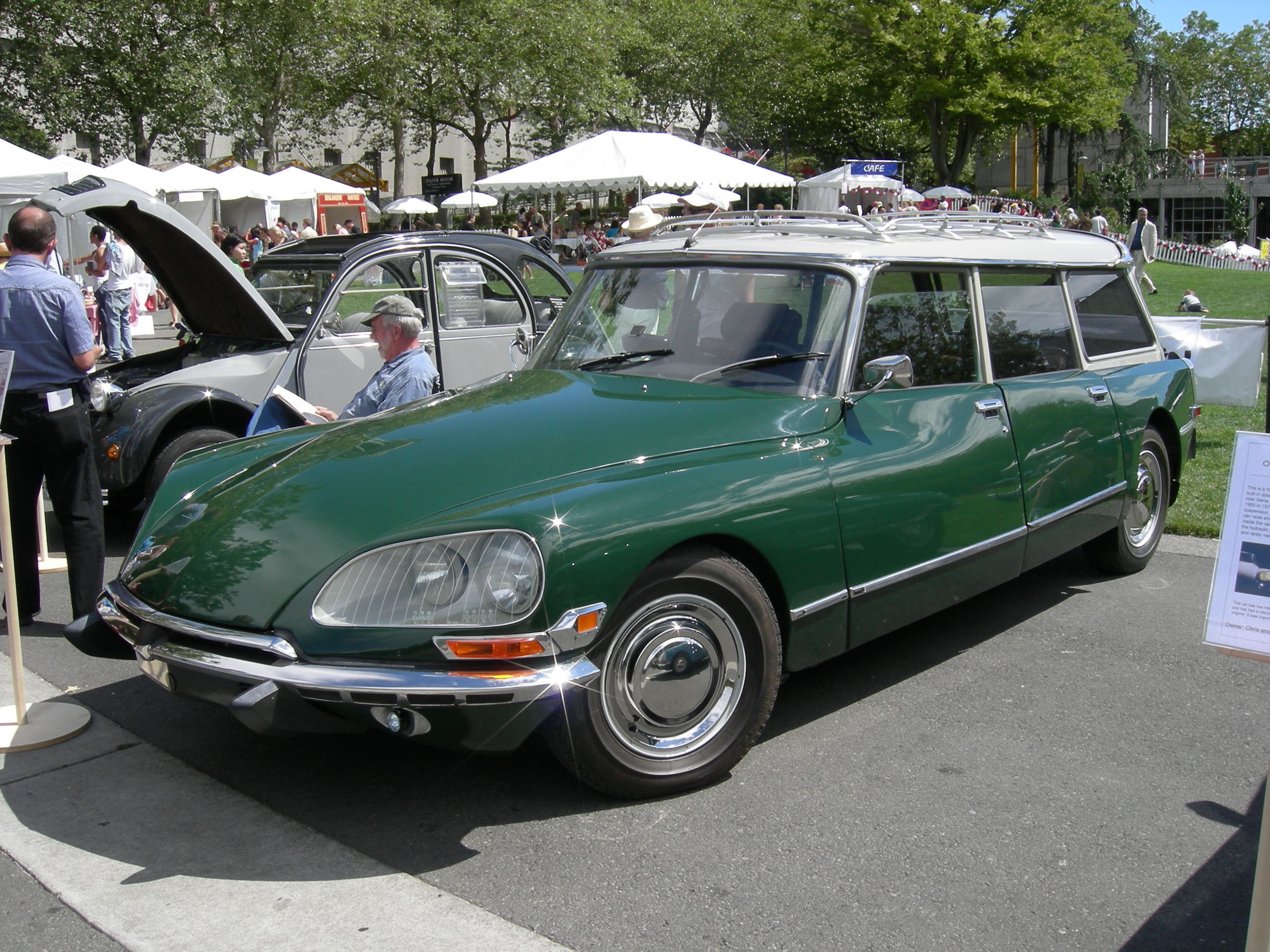 1972 Citroen DS station wagon Car Free Picture Download Image Of