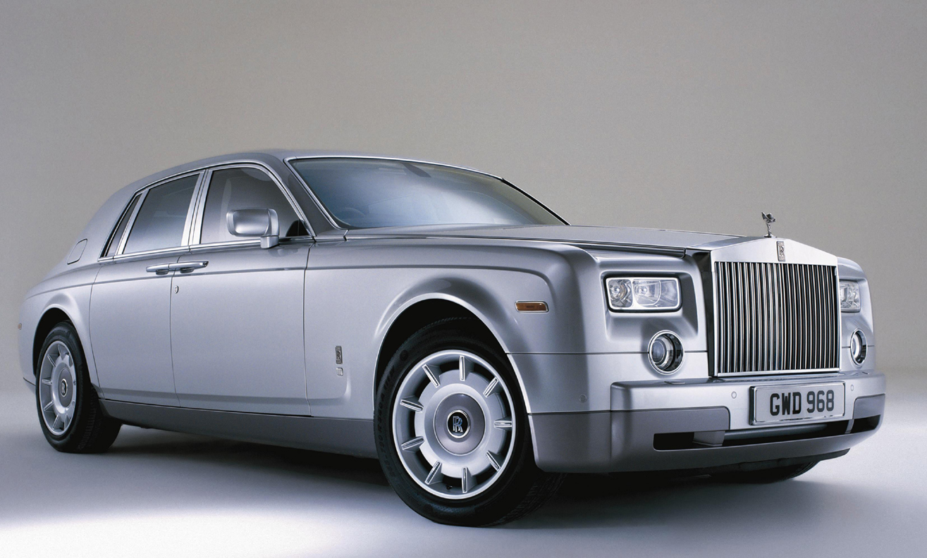 2003 Rolls Royce Phantom Wallpaper HD Free