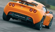 Lotus Exige Orange Rear Angle High Resolution Wallpaper Free