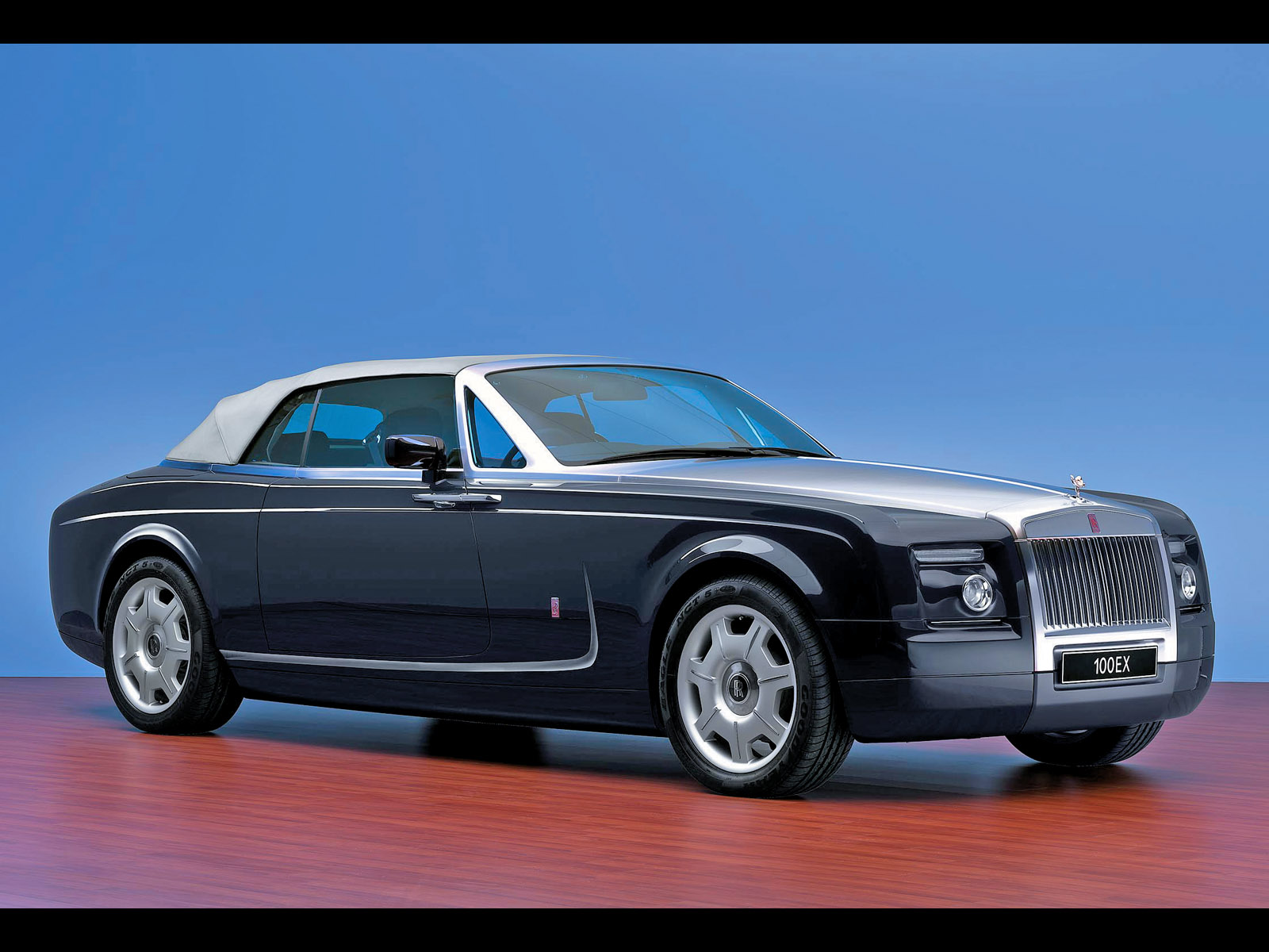 2004 Rolls Royce 100EX Concept Side Angle Top Up Desktop Backgrounds HD