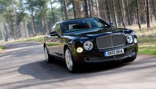 Bentley Mulsanne Black Front Angle Speed Wallpaper Free Picture Download Image Of
