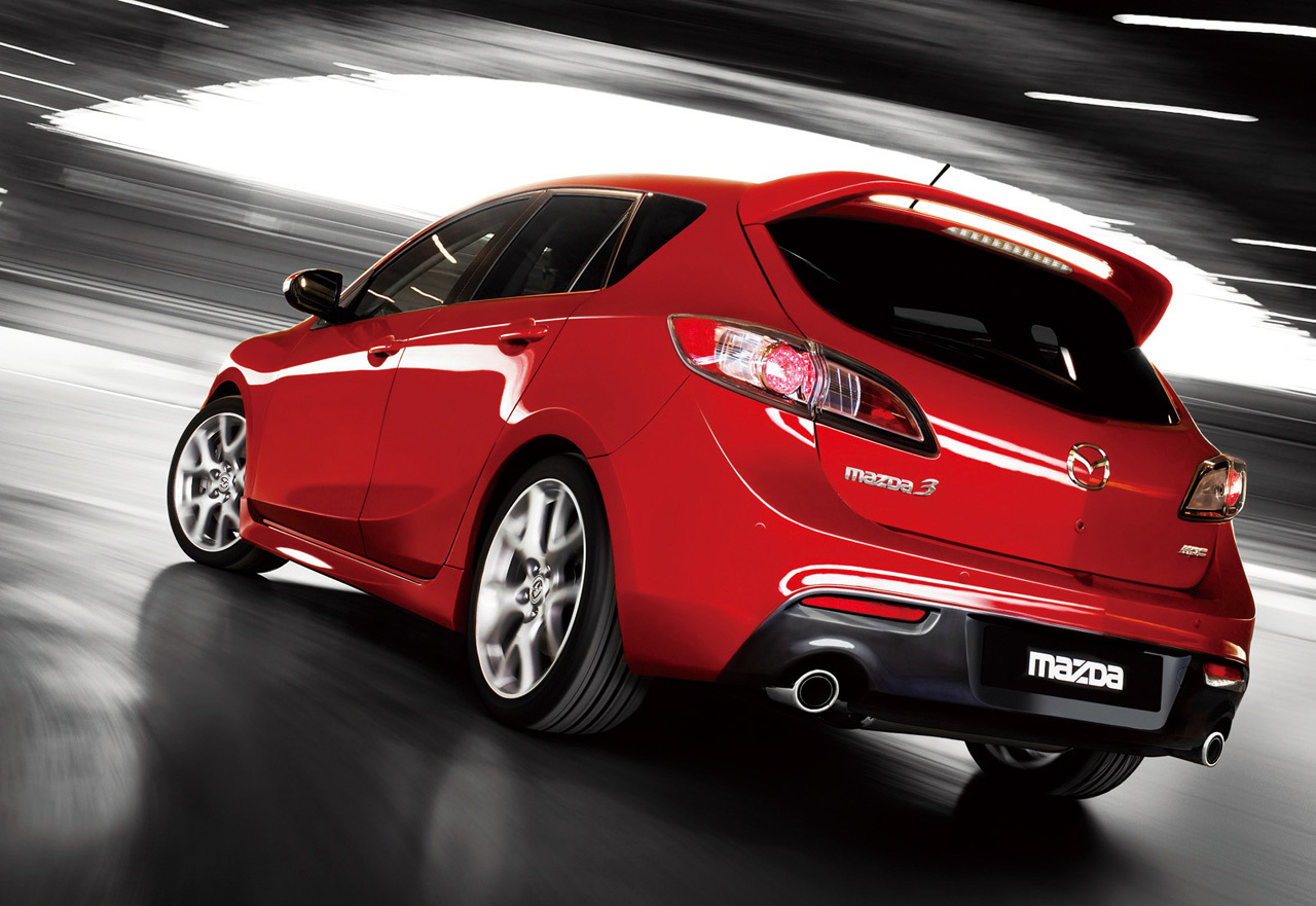 2010 Mazda 3 MPS Motor Show High Resolution Wallpaper Free