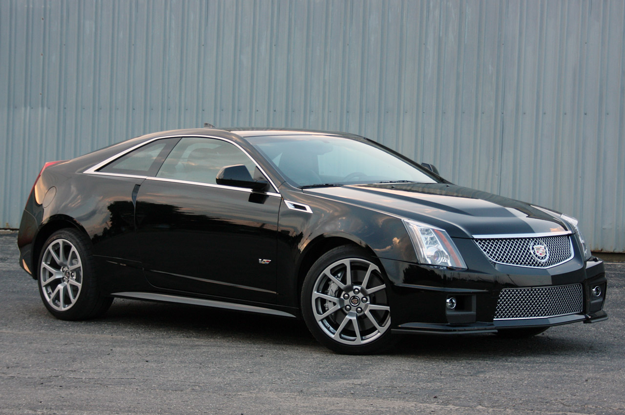 Rippy Cadillac CTS V Coupe is angular unhinged glorys Free Download Image Of