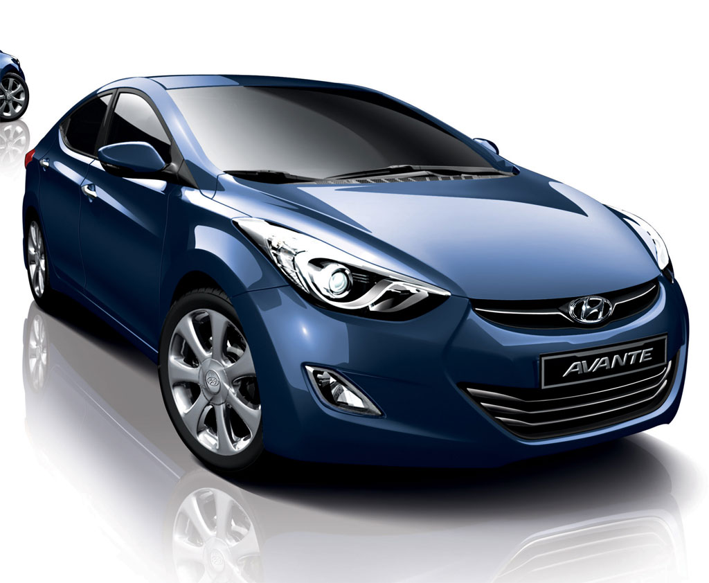 Hyundai Elantra Motor Co had its world remier of the all new Avante compact Wallpapers Download