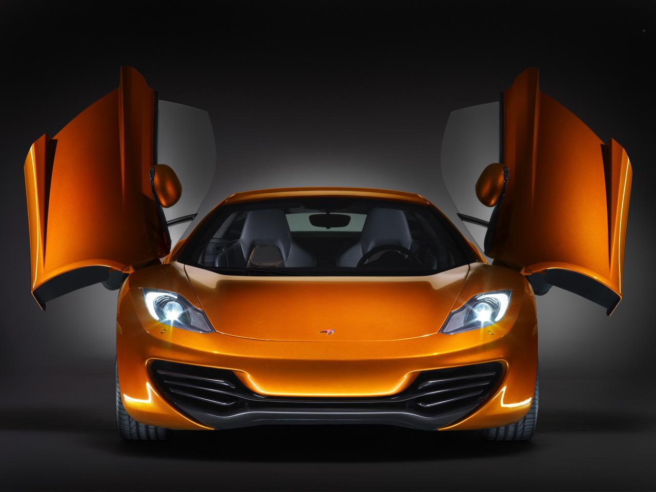 McLaren MP4-12C front view Wallpapers Desktop Download