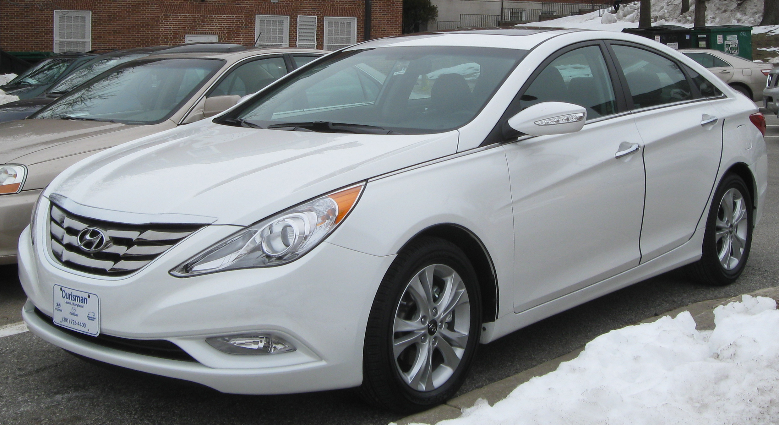 Hyundai Sonata Limited Car Wallpapers Desktop Download
