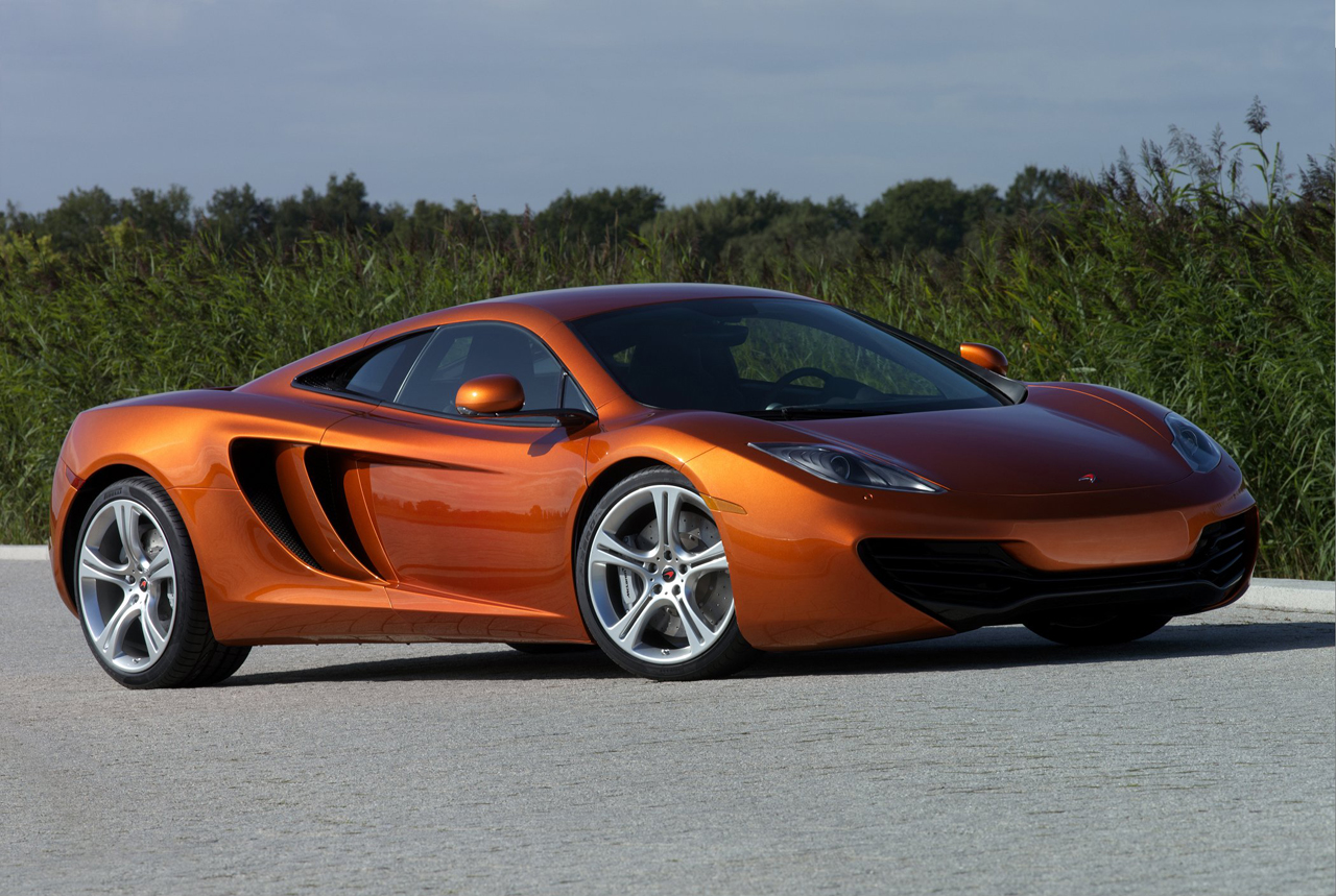 McLaren MP4-12C which has announced the pricing Wallpapers Download