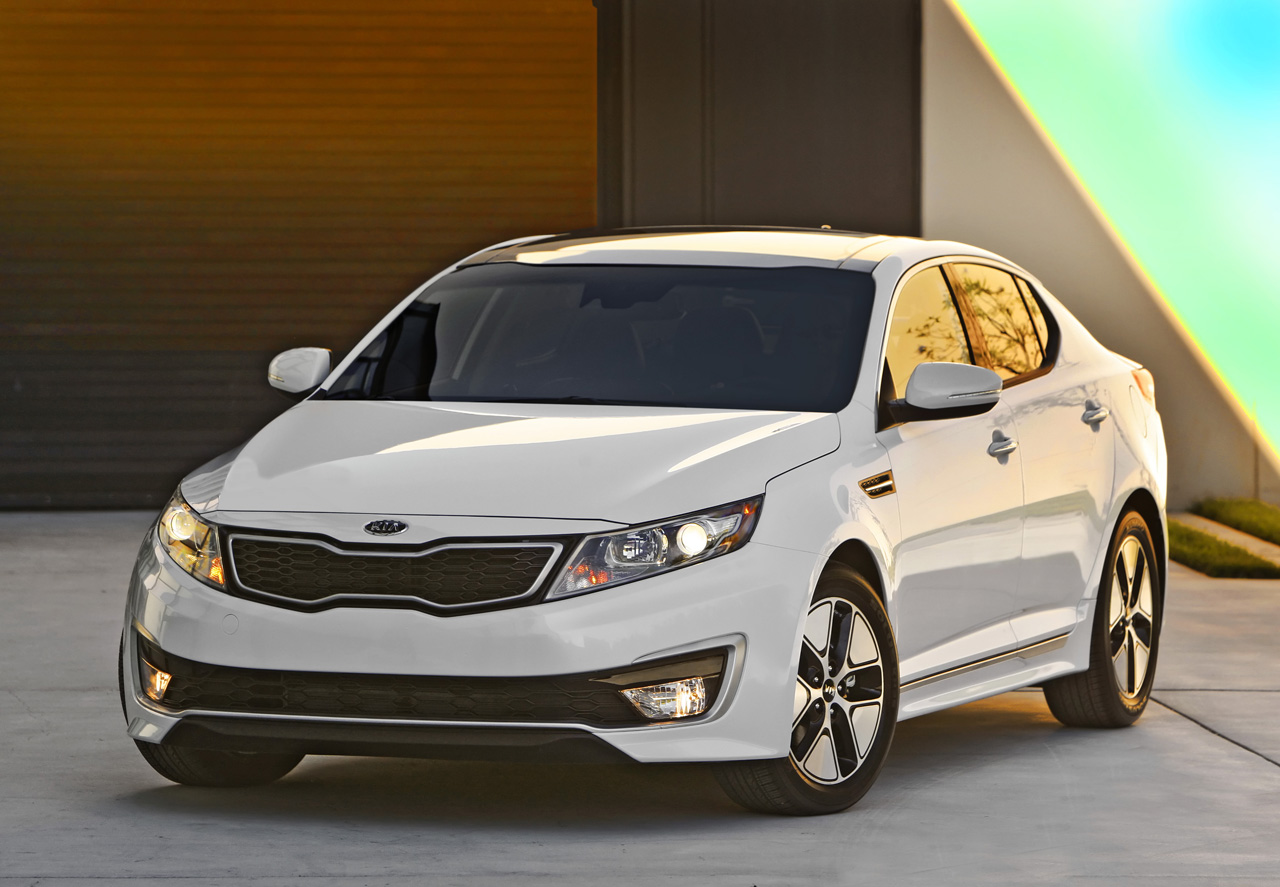 Kia Optima Hybrid Unveiled Wallpapers HD