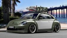 Volkswagen New Beetle at SEMA Wallpaper Backgrounds
