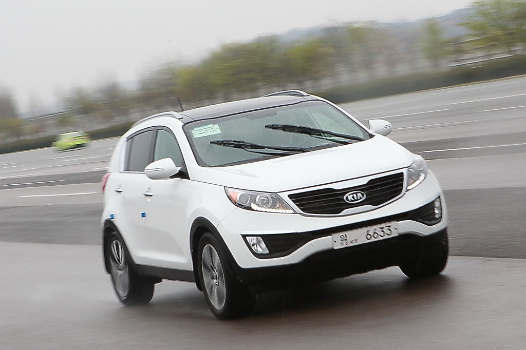 Kia Sportage Capability  Free Download Image Of