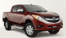 New Mazda BT-50 Pickup Truck First Photos of Ford Rangers Sister Car Free Download Image Of
