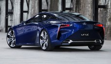 Lexus LF-LC Concept Goes Blue For AIMS  Photo Amazing Desktop Backgrounds