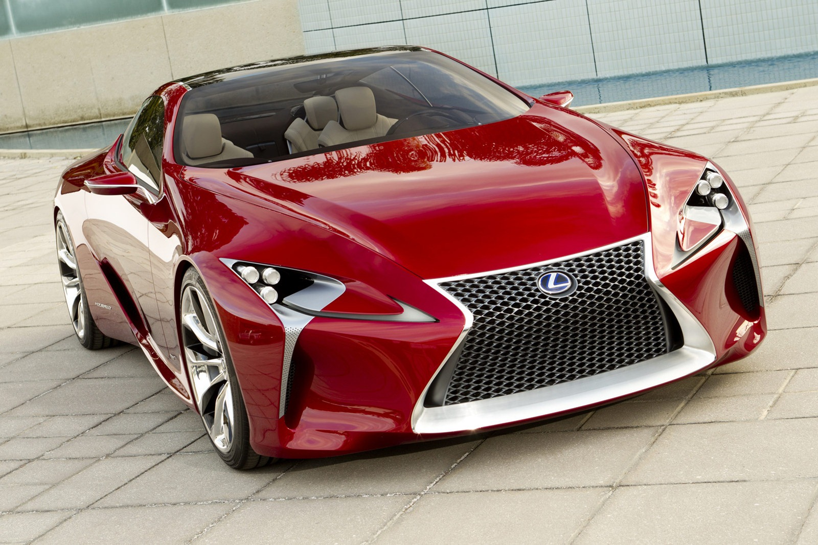 Lexus lf lc hybrid supercar concept Planning New Concept For Paris Wallpapers Desktop Download