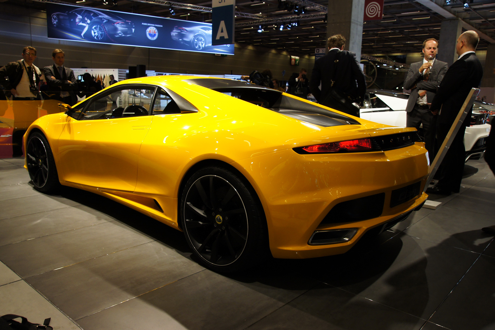 Lotus Elan Paris Auto Show High Resolution Wallpaper Free